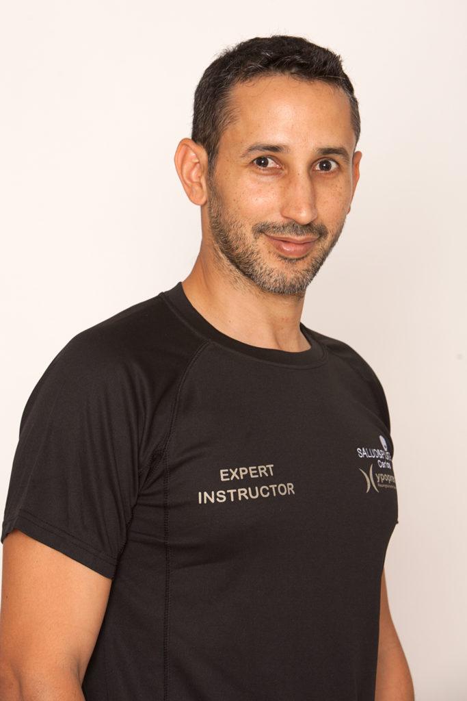 Carlos Castillo Profesor de Romana's Pilates Madrid Hipopresivos Tad013 Equipo
