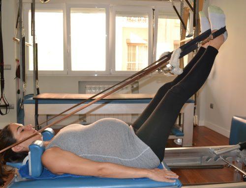 ¿Cómo son la clases de Pilates durante el embarazo?