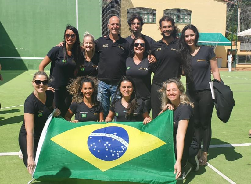Equipo de Brasil Hypopressive RSF. Hipopresivos fitness