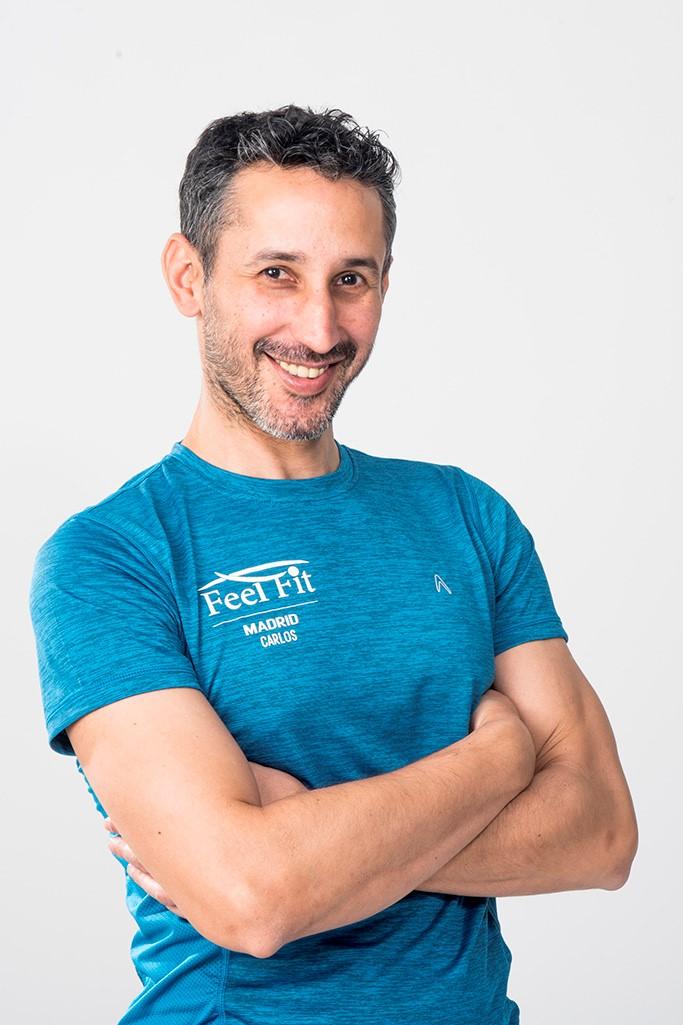Carlos Castillo Torrens profesor de Romana's Pilates e Hipopresivos. Leader Instructor de la formación Hypopressive RSF en Madrid Equipo Feel Fit Madrid