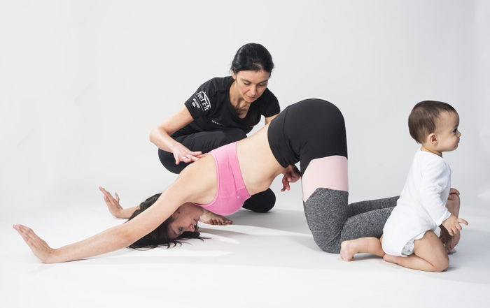 Clases durante el embarazo y el postparto - Ejercicios para recuperarse del parto en madrid. Pilates e Hipopresivos