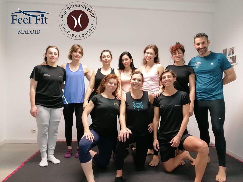 Workshop Reequilbrio de cadenas musculares y recuperación del suelo pélvico a través del Método Hipopresivo. Madrid febrero de 2020. Formación continua hipopresivos madrid.