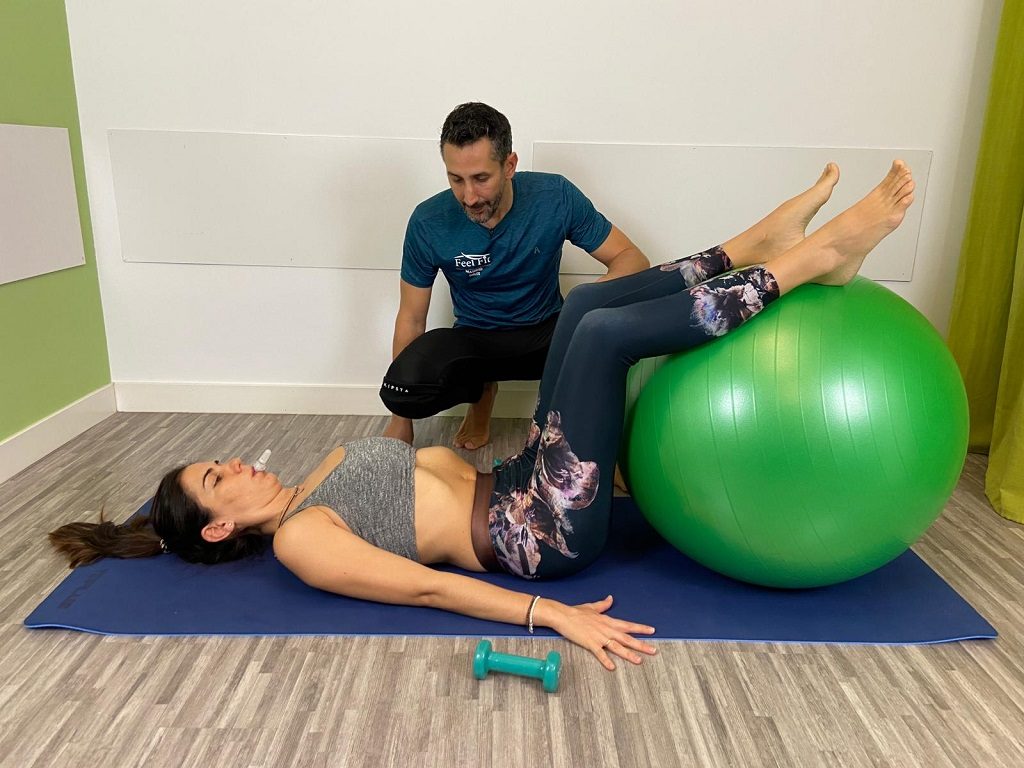 Método Tad entrenamiento de la musculatura abdominal y del suelo pélvico. Evita la incontinencia o problemas de suelo pélvico en el parto y el postparto.